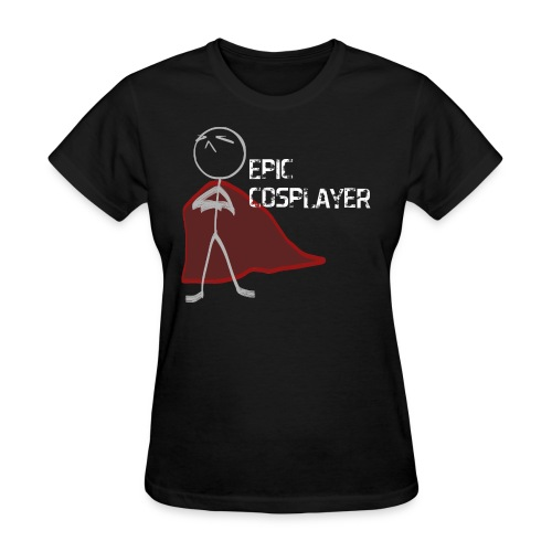 epic cosplayer navy blue clothes - Women's T-Shirt