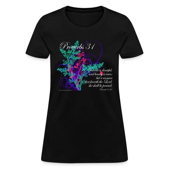 Proverbs 31 Virtuous Woman T Shirt Design Women S