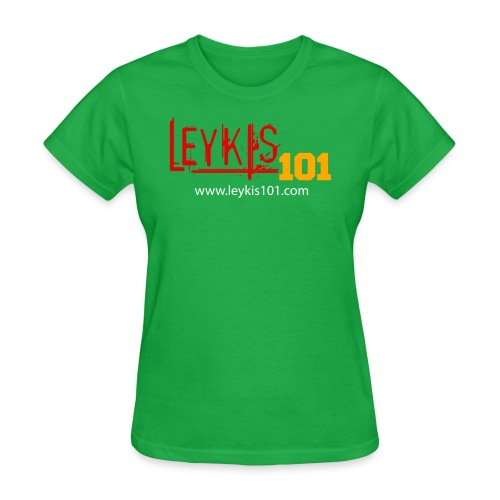 Leykis 101 Full Color with Domain - Women's T-Shirt