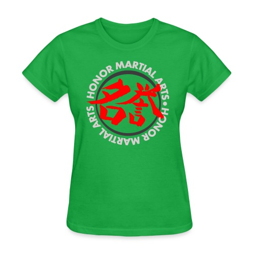Honor Martial Arts Kanji Design Light Shirts - Women's T-Shirt