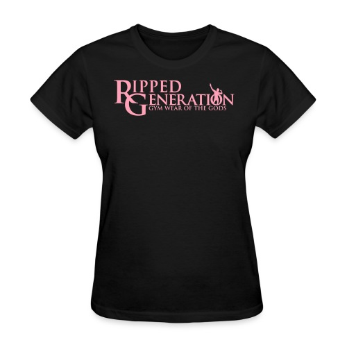 Ripped Generation Gym Wear of the Gods Logo - Women's T-Shirt