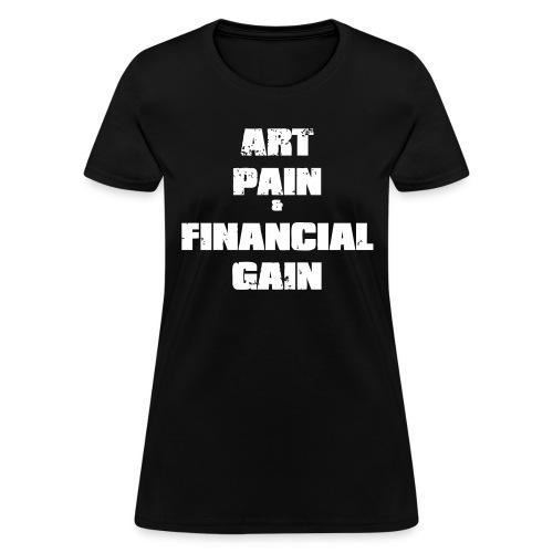Art Pain Vector - Women's T-Shirt
