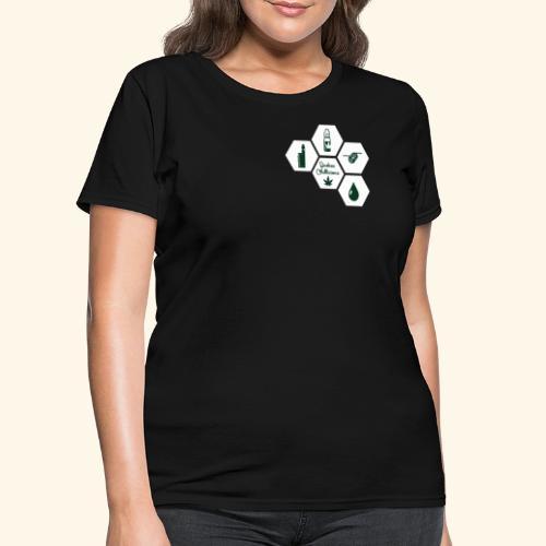 Vape weed - Québec Chillicious - Women's T-Shirt