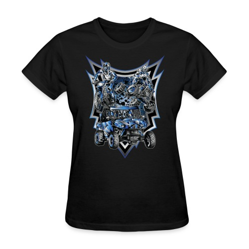 Extreme Life Style Blue - Women's T-Shirt