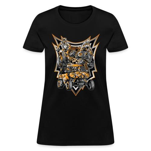 Extreme Life Style Orange - Women's T-Shirt