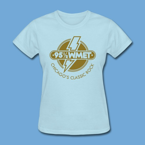 WMET logo (variable color) - Women's T-Shirt