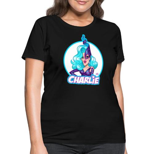 Dame Charlie Hides by Glen Hanson - Women's T-Shirt