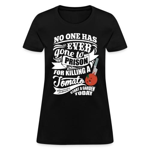 KillingATomatoDarkShirt - Women's T-Shirt