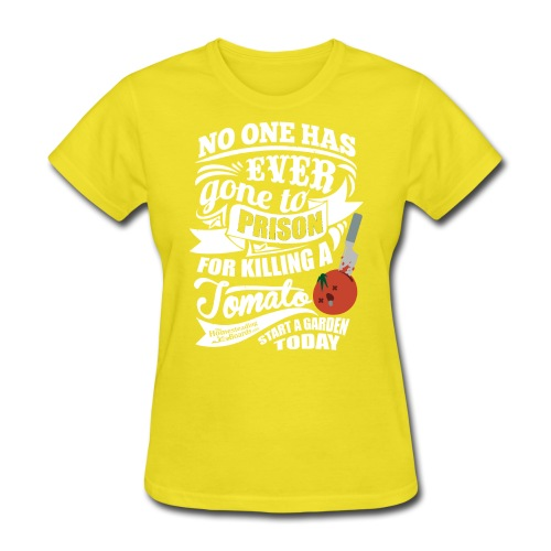 KillingATomatoDarkShirt - Women's T-Shirt