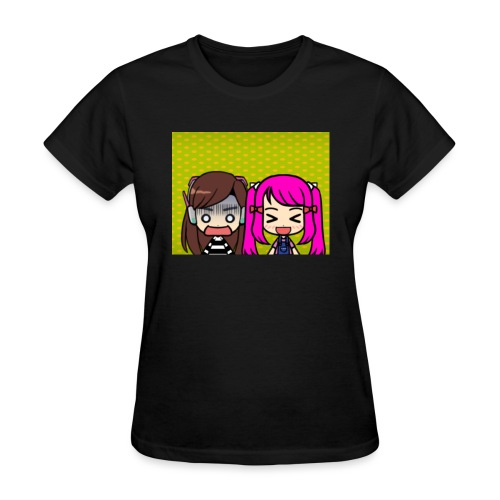 Phone case merch of jazzy and raven - Women's T-Shirt