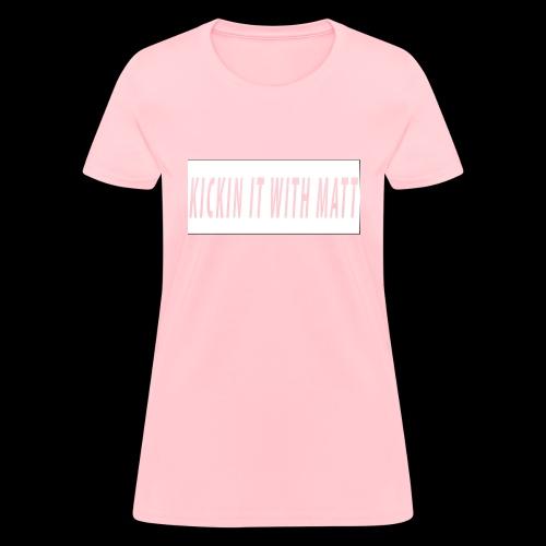 White Design - Women's T-Shirt