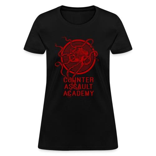 Counter Assault Academy Octopus Logo - Women's T-Shirt