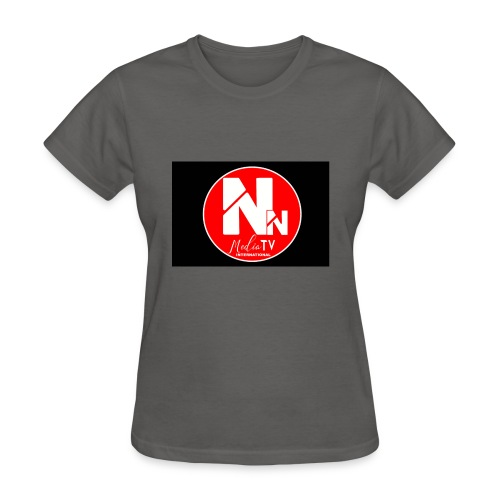 logo NN MEDIA TV - Women's T-Shirt