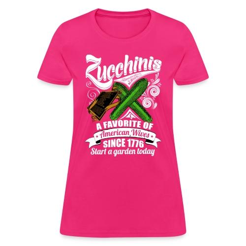 Zucchinis_PrintWhite - Women's T-Shirt