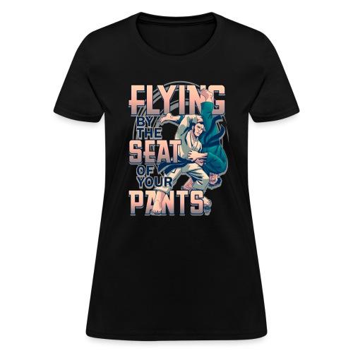 Judo Flying Kata Guruma - Women's T-Shirt
