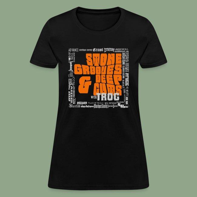 Stone Grooves Deep Cuts Pinch Logo T Shirt