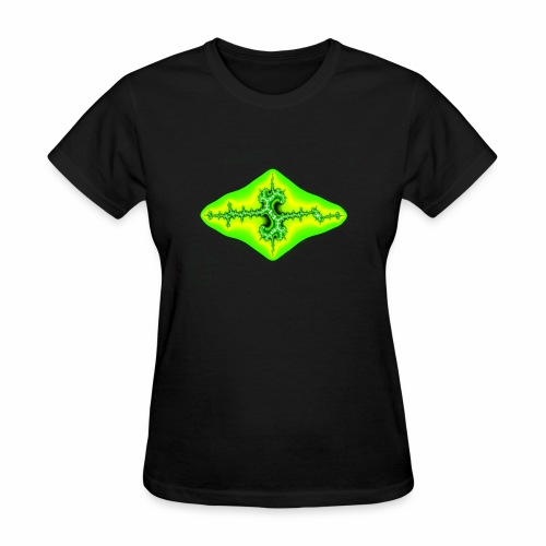 green fractal - Women's T-Shirt