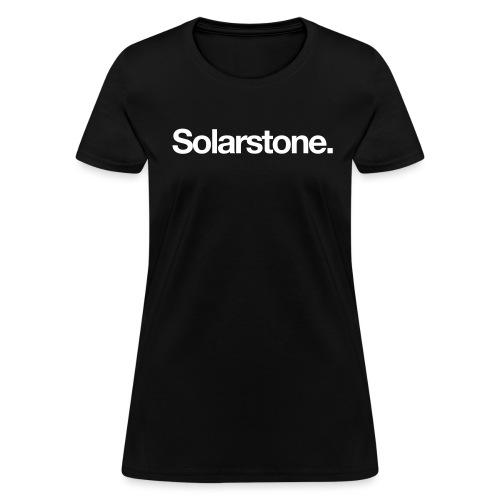 Solarstone Logo White - Women's T-Shirt