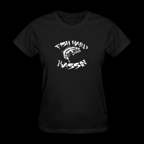 Fish Hard Logo - Women's T-Shirt