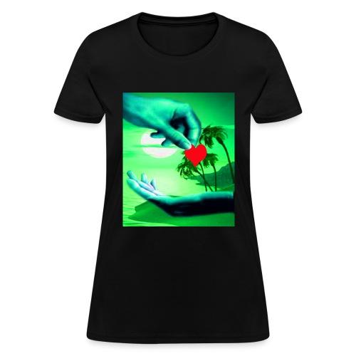 The cheek of my heart - Women's T-Shirt