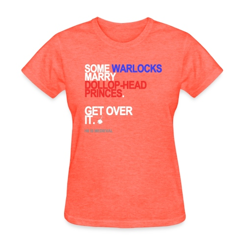some wizards marry princes black shirt - Women's T-Shirt