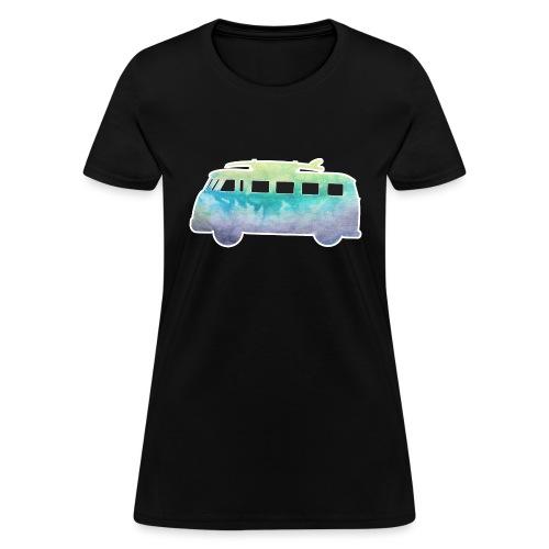 Surfers Kombi Van - Women's T-Shirt