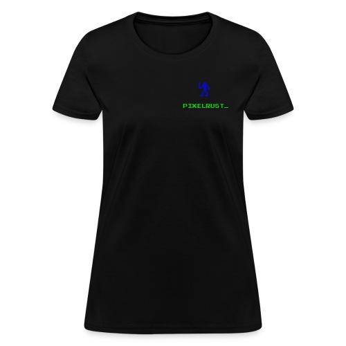 PixelRust Logo - Women's T-Shirt