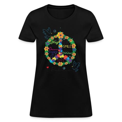Floral Peace - Women's T-Shirt