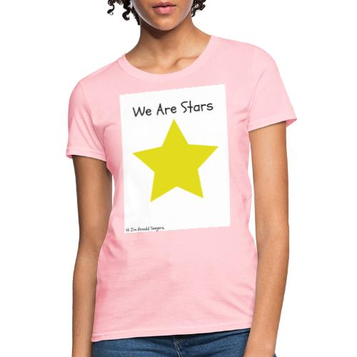 Hi I'm Ronald Seegers Collection-We Are Stars - Women's T-Shirt