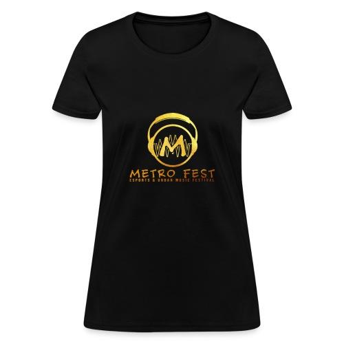 metrofest gold - Women's T-Shirt