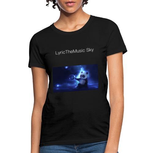 """""""LyricTheMusic Sky"""" MERCH - Women's T-Shirt"""