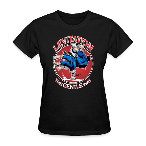 Judo Shirt - Levitation for dark shirt - Women's T-Shirt