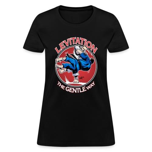 Judo Levitation for dark shirt - Women's T-Shirt