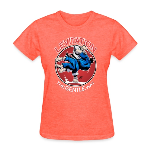 Judo Levitation for dark shirt - Women's T-Shirt