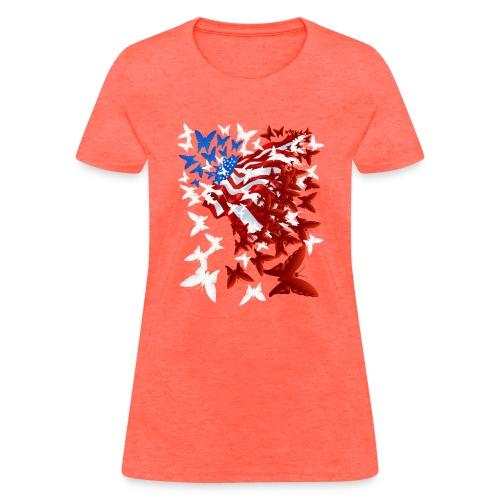 The Butterfly Flag - Women's T-Shirt