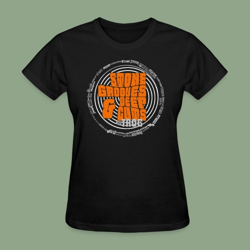 Stone Grooves Deep Cuts Spiral Logo T Shirt - Women's T-Shirt