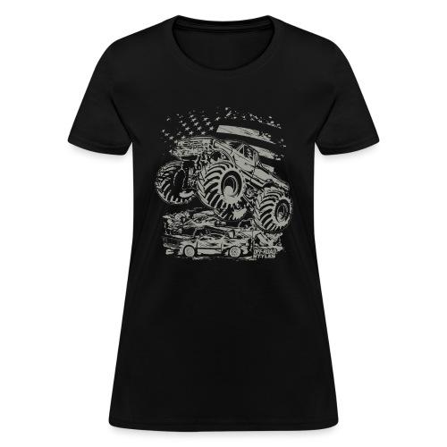 Monster Truck USA - Women's T-Shirt
