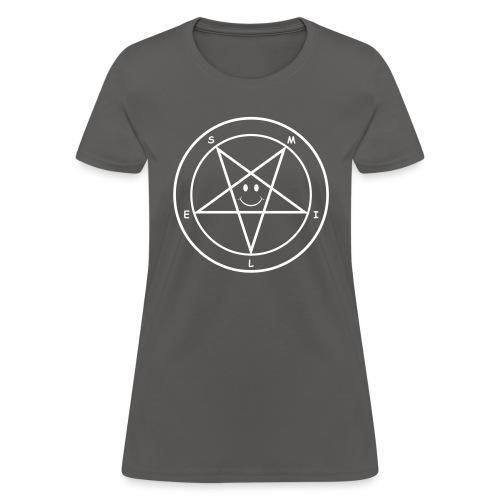 Smile Pentagram - Women's T-Shirt