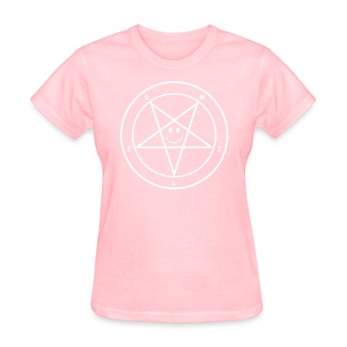 Smile Pentagram - Women's T-Shirt