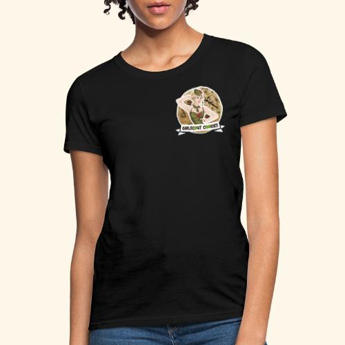 GirlScout Cookies weed 420 québec chillicious - Women's T-Shirt