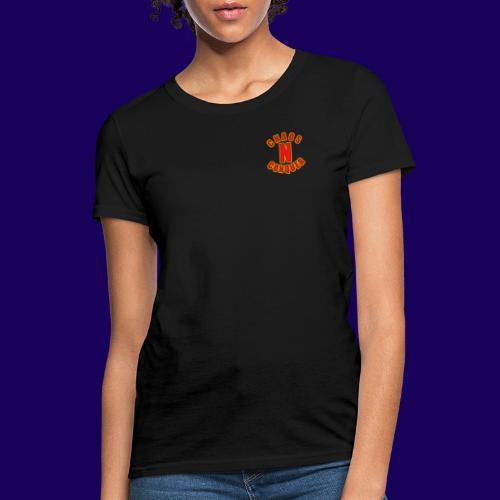 ChaosNConquer Minimalist Logo Print - Women's T-Shirt