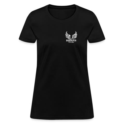 Seraph Films Square Logo White - Women's T-Shirt