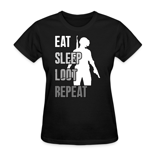 Playerunknowns Battlegrounds - LOOT - PUBG - Women's T-Shirt