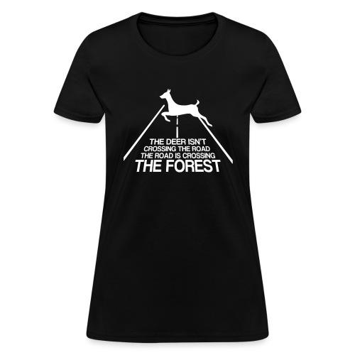Deer's forest white - Women's T-Shirt