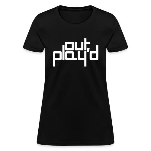 out play'd vanilla tee - Women's T-Shirt