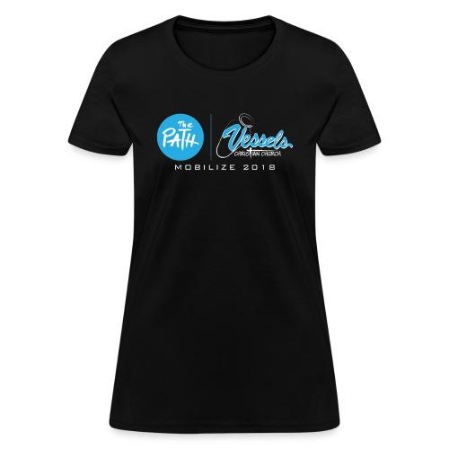 VCC Blue fin for Dark Tees - Women's T-Shirt