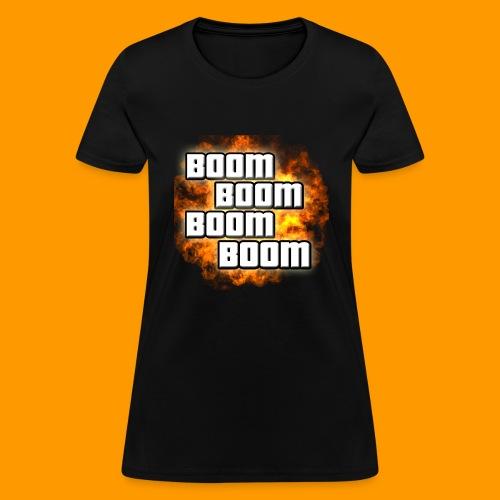 boom png - Women's T-Shirt