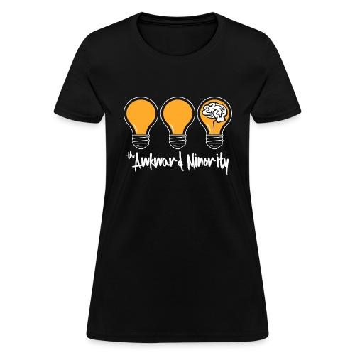 onBlacklogo - Women's T-Shirt