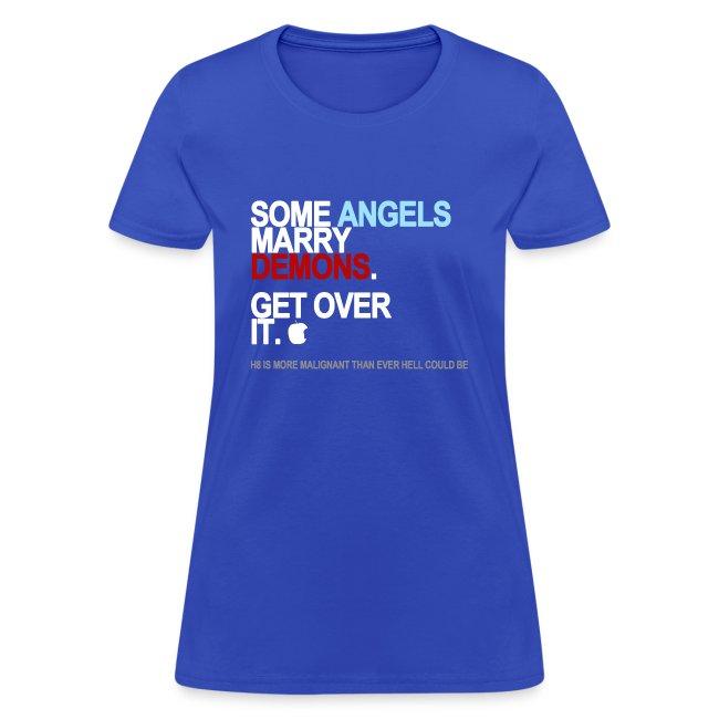 some angels marry demons black shirt