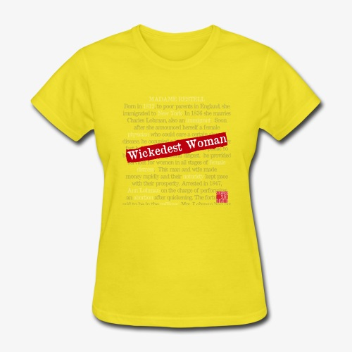 Wickedest Woman Logo Accessories - Women's T-Shirt